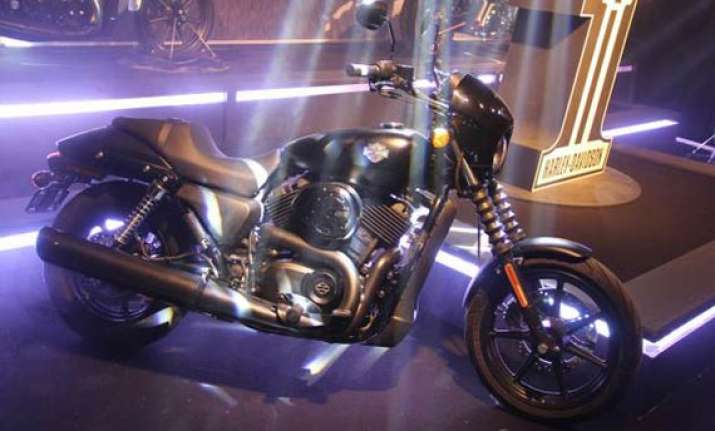 delhi auto expo 2014 harley davidson india launches street