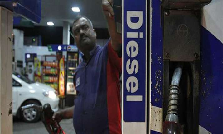 diesel under recovery falls to rs.7.16 a litre