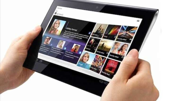 digital tablets can improve reading of visually impaired