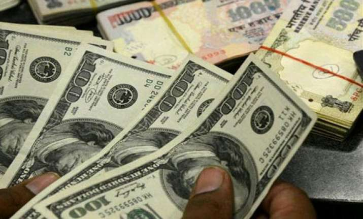 dollar ends sharply cheaper against rupee