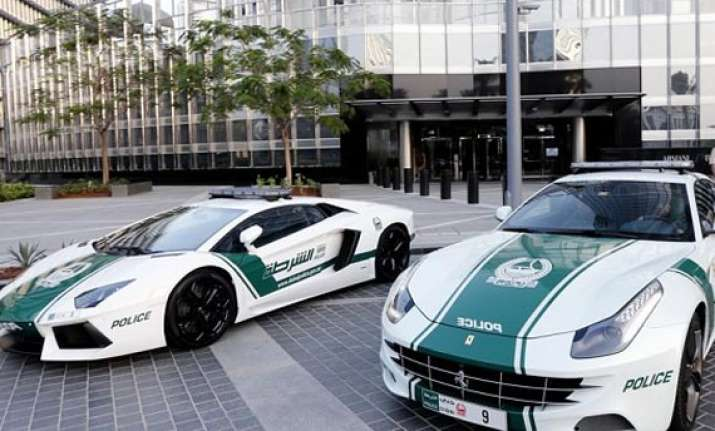 dubai police s fleet of cars include lamborghinis bentleys