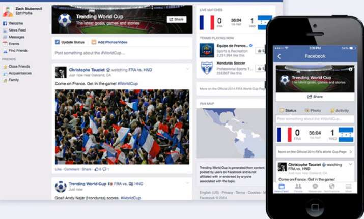 facebook twitter brace for world cup fever