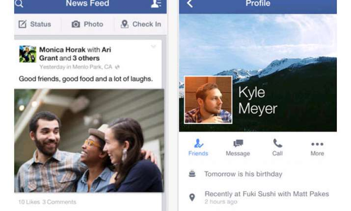 facebook app updated with direct comment replies and more