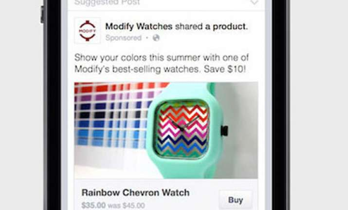 facebook tests buy button in posts on some newsfeeds
