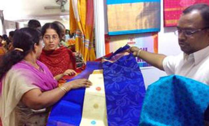 five day silk india expo begins in madurai