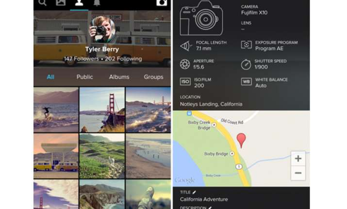 flickr copies instagram brings new design hd video and
