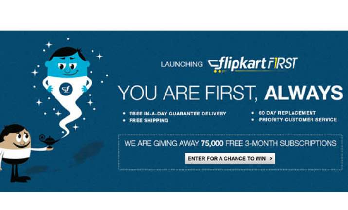 flipkart launches amazon prime like service for india