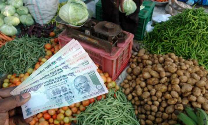 food inflation plunges to six year low of 0.42 pc