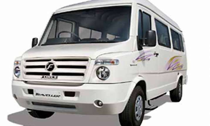 force motors unveils traveller 26