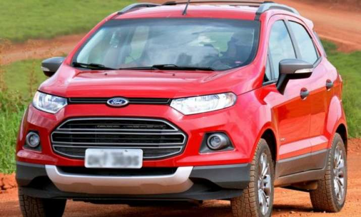 Ford India To Begin Ecosport Bookings In June India News India Tv