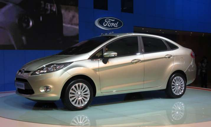 ford india launches automatic variant of fiesta