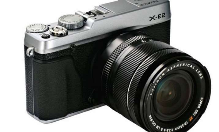 fujifilm launches x e2 high end mirrorless ilc starting at