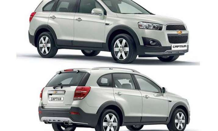 Gm India Launches New Facelifted 2013 Chevrolet Captiva India News