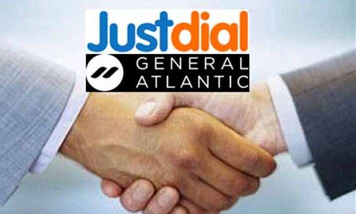 general atlantic in talks to buy stakes in just dial info