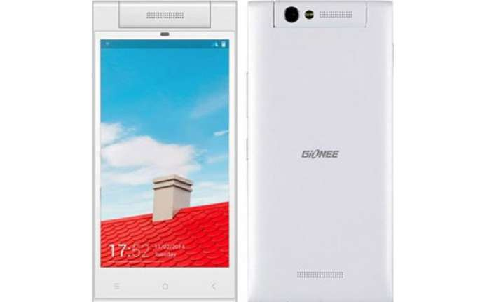 gionee elife e7 mini with rotating flip camera now