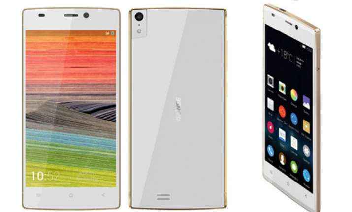 gionee announces world s thinnest smartphone
