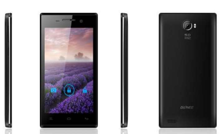 gionee launches quad core ctrl v4 smartphone for rs 9 999