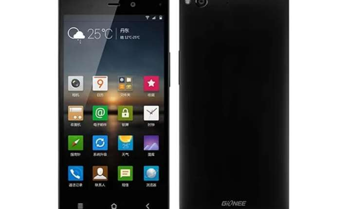 gionee launches elife e6 smartphone in india for rs 22 999