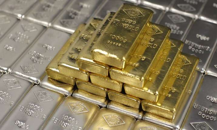 gold down by rs 100 silver up by rs 500