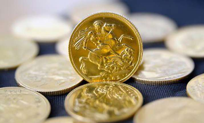 gold spurts to over four month high
