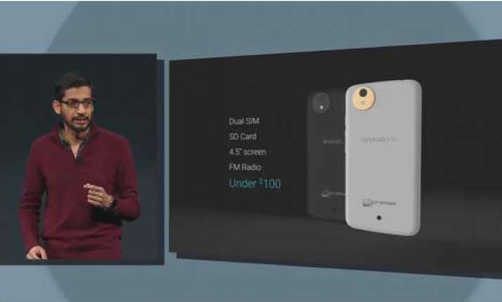 google announces android one to enhance the reach of