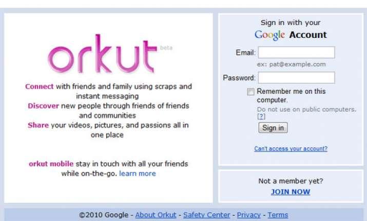 google to shut down orkut its first social network
