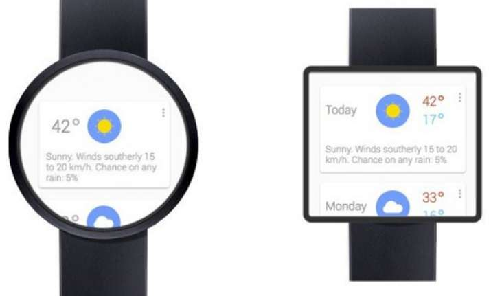 google reveals an operating system for smartwatches called
