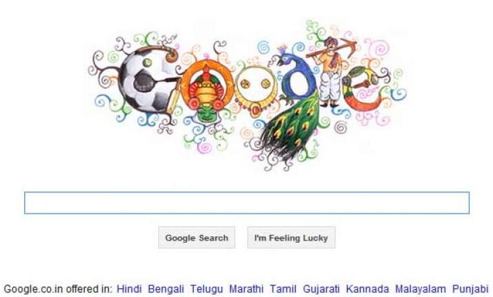 google features doodle 4 google 2012 winner on india home