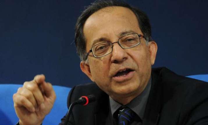 govt s chief economic advisor basu supports gentle hike in