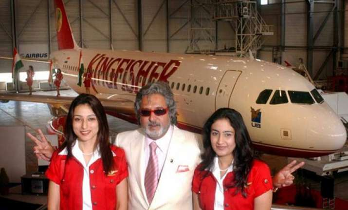 grounded kingfisher airlines net loss widens at rs. 1 157