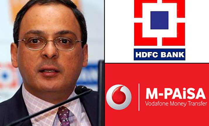 hdfc bank launches mobilebank account with vodafone m paisa