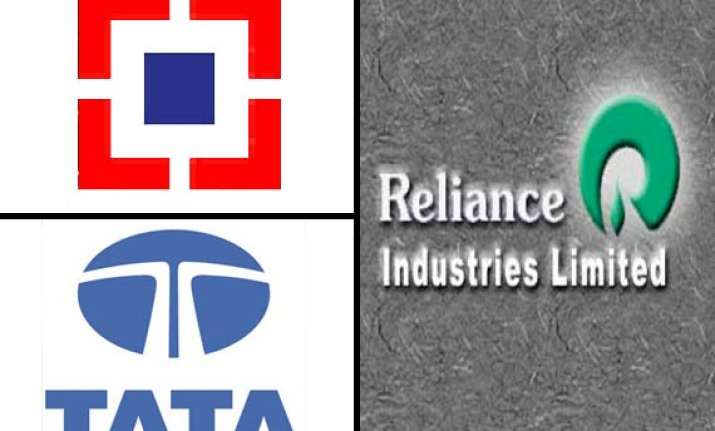 hdfc tata groups overtake reliance as bigger market movers