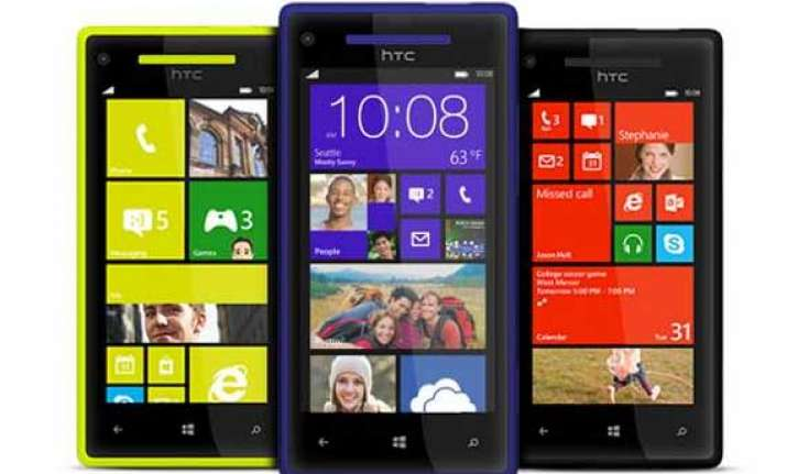 htc launches windows phone 8x 8s in india
