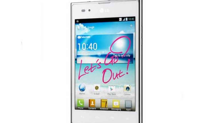 hands on lg optimus vu p895