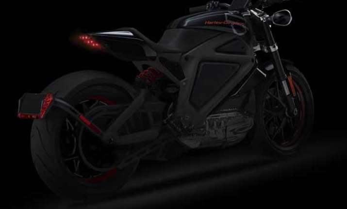 harley davidson reveals livewire electric motorcycle