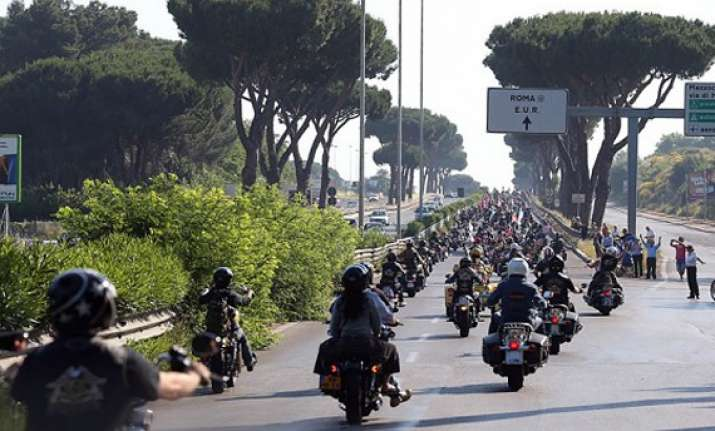 harley davidson s 110th anniversary party in rome pictures