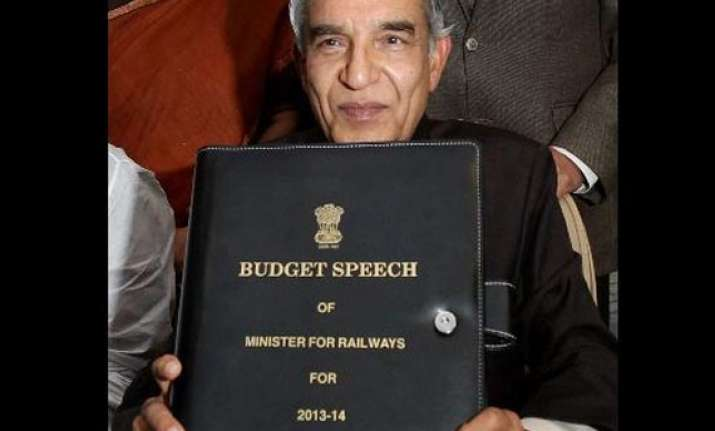 highlights of rail budget 2013