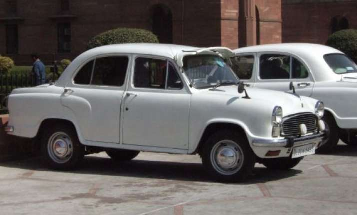 hindustan motors suspends production of iconic ambassador
