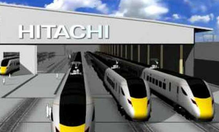 hitachi gets 2.7 bn pound train building contract in britain