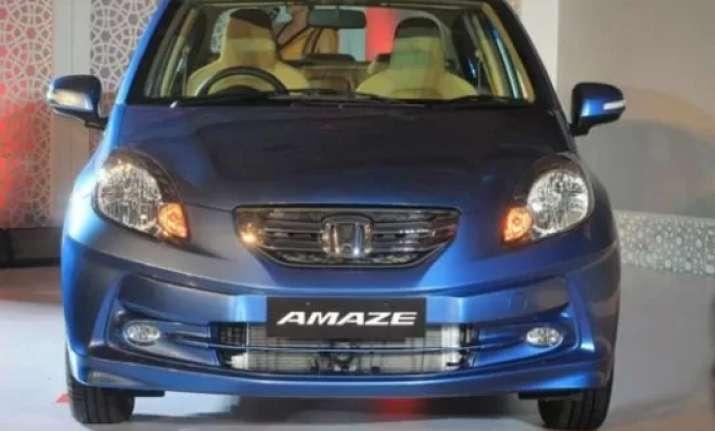 honda amaze achieves 30 000 sales mark in less than 150 days