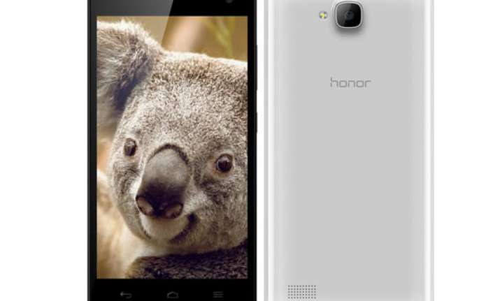 huawei honor 3c launched in india for rs 14999