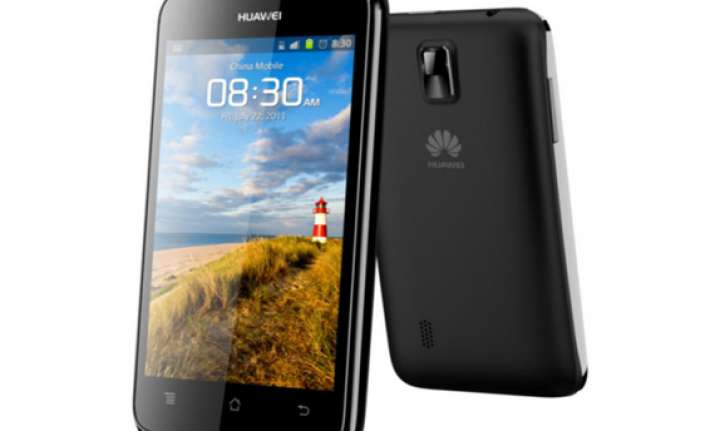 huawei launches ascend g330 for rs 10 990