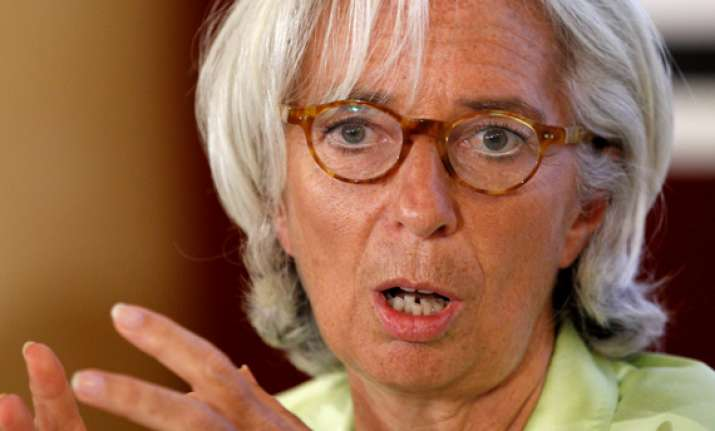 imf head weak nations still need central bank aid