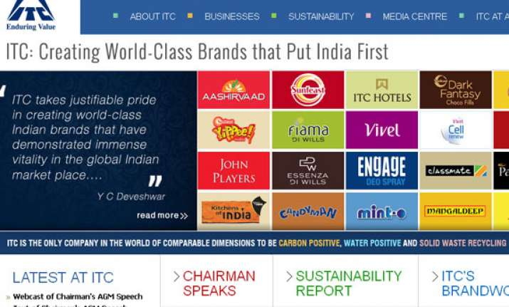 itc replaces tcs as india s most admired company fortune