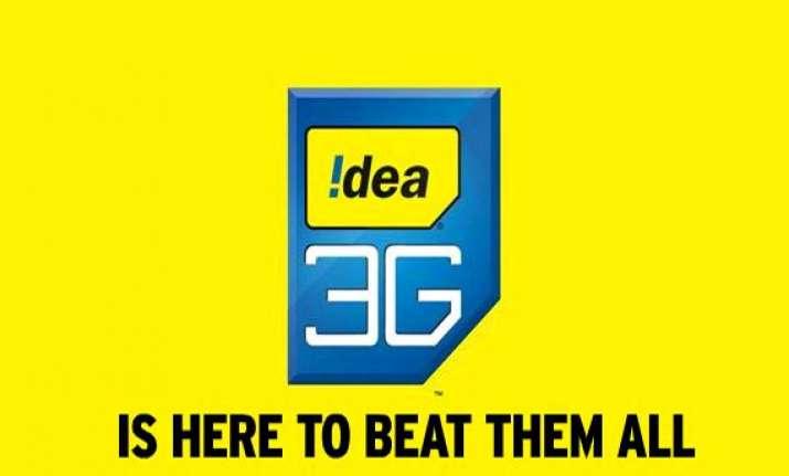 idea cellular resumes 3g services via inter circle roaming