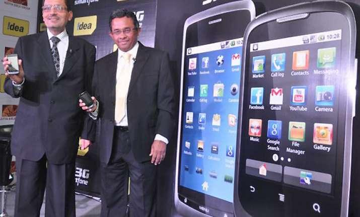 idea launches smartphones to promote 3g service