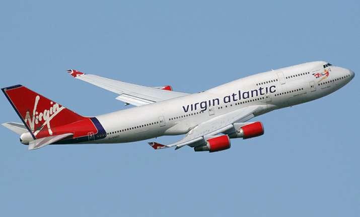 in flight mobile service for delhi london route on virgin