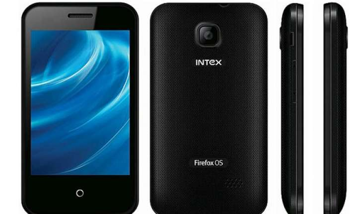 india s cheapest smartphone intex cloud fx launched at rs 1