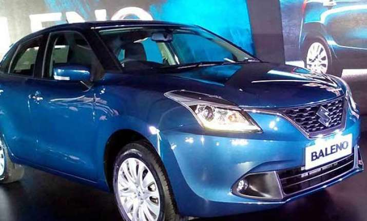 maruti global hatchback baleno from rs 5.23 lakh in kolkata