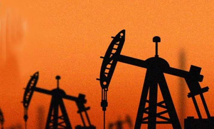 indian crude oil basket now dips below usd 43 per barrel